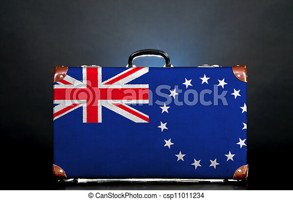 The Cook Islands flag - csp11011234