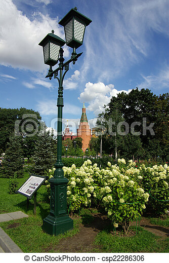 The Corner Arsenal Tower in Moscow Kremlin - csp22286306