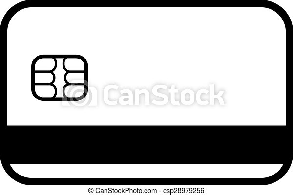 The Credit Card Icon Bank Card Symbol The Credit Card Icon Bank