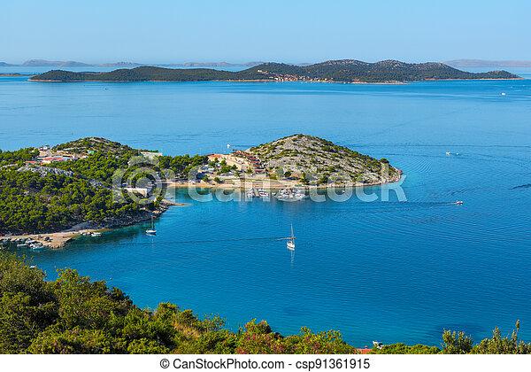 The Croatian coast - csp91361915
