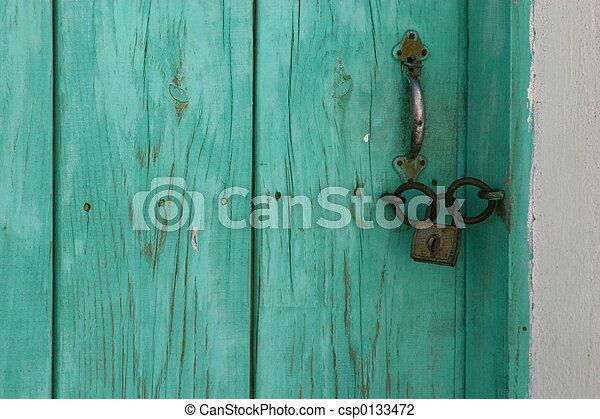 The Door - csp0133472