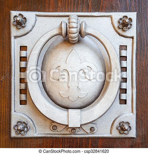 the doorknob - csp32841620