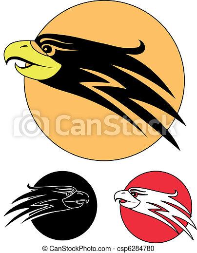 The Eagle Bird As A Symbol 3 Icon Vector Clipart Search