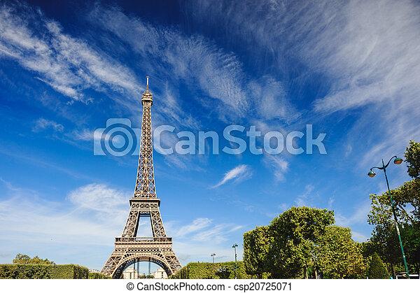 The Eiffel Tower, Paris. France - csp20725071
