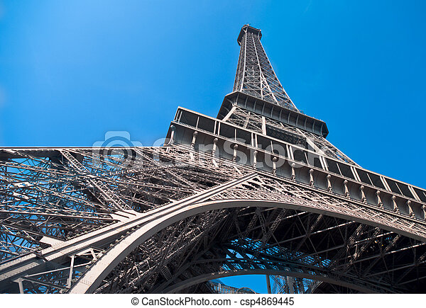 The Eiffel Tower, Paris - csp4869445