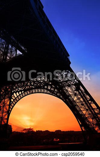 The Eiffel Tower - csp2059540