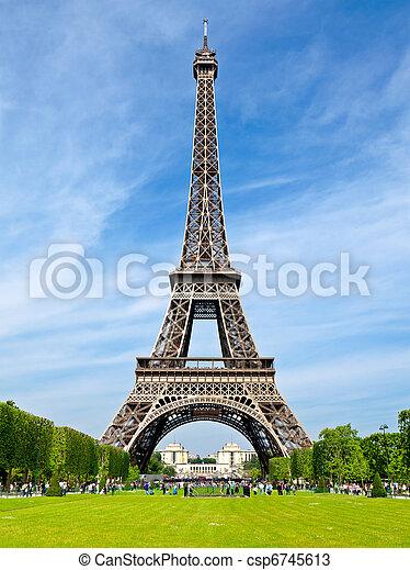 The Eiffel Tower - csp6745613
