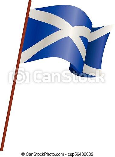 The flag of Scotland - csp56482032