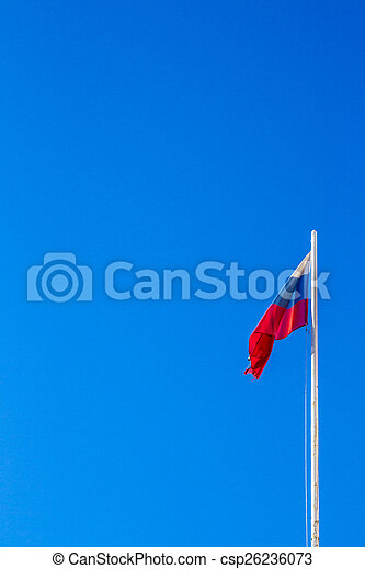 The Flag Of The Russian Federation - csp26236073