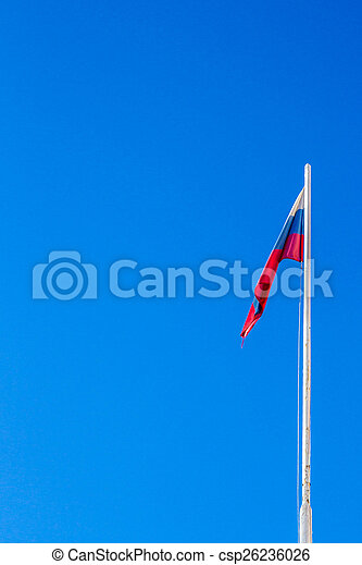 The Flag Of The Russian Federation - csp26236026