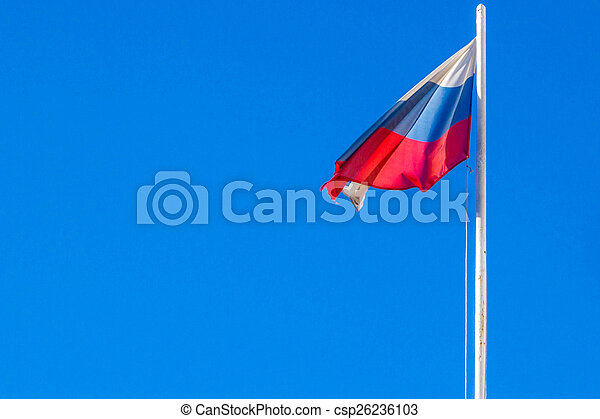 The Flag Of The Russian Federation - csp26236103