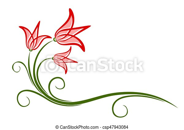 The Flower Logo A Logo Of The Stylized Flower