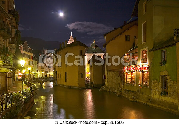 The French city - csp5261566