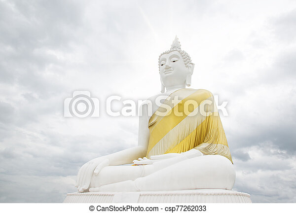 The front of the Buddha, - csp77262033
