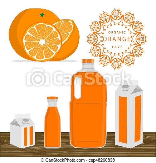 The fruit orange - csp48260838