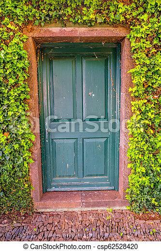 The Garden Door - csp62528420