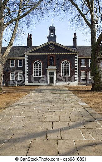 The Geffrye Museum in London - csp9816831