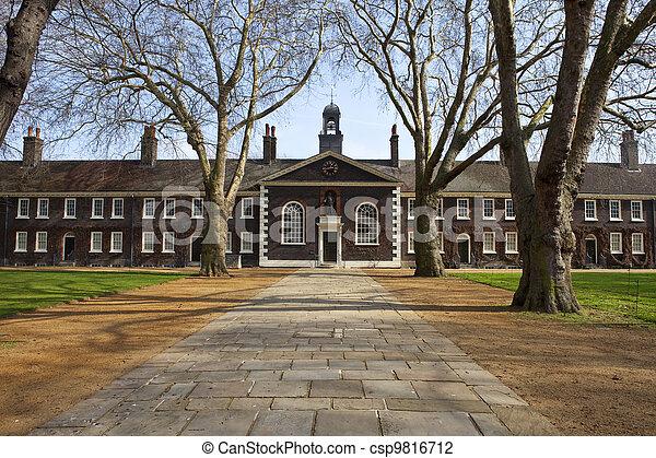 The Geffrye Museum in London - csp9816712