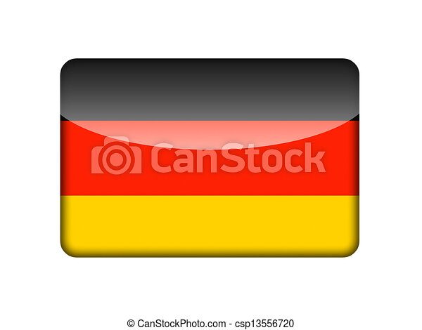 the german flag in the form of a glossy icon clip art search rh canstockphoto com