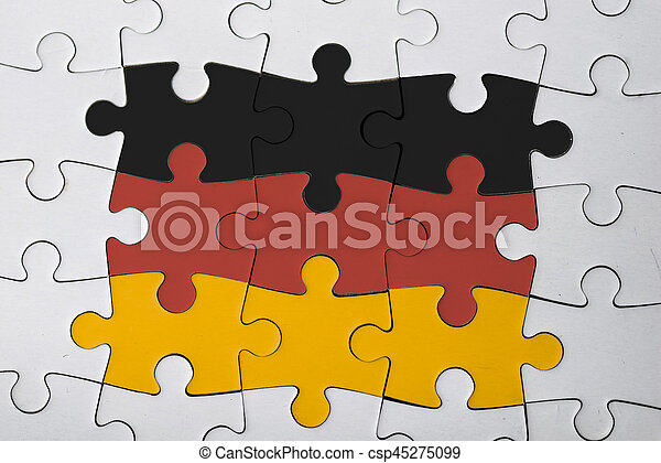 the german puzzle - csp45275099