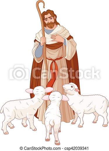 The Good Shepherd - csp42039341