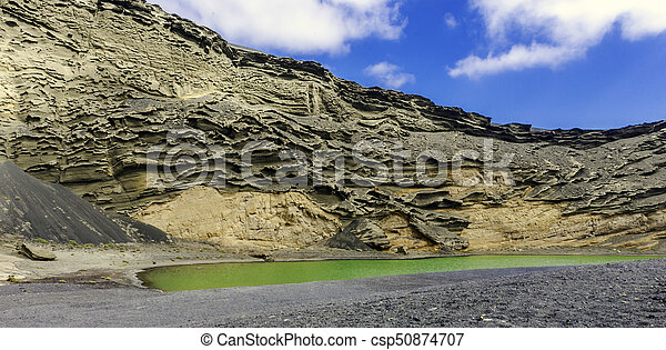 The Green Lagoon - Lago Verde - csp50874707