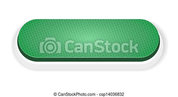 The green push button - csp14036832