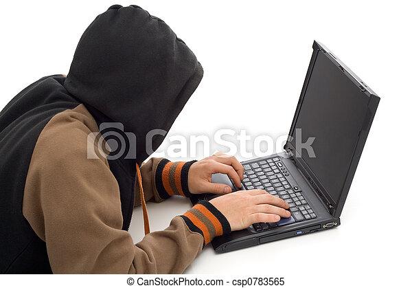 The hacker - csp0783565
