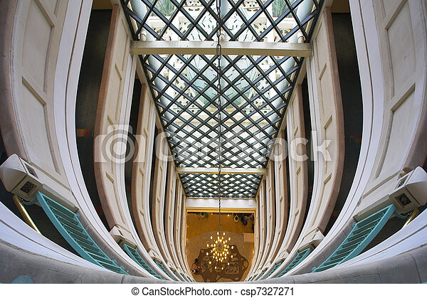 The hall of magnificent hotel - csp7327271