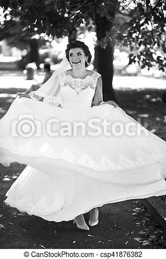 The happinest bride - csp41876382