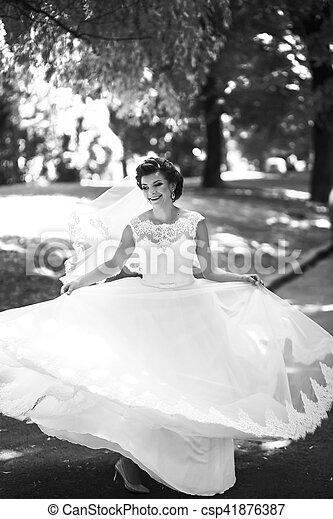 The happinest bride - csp41876387