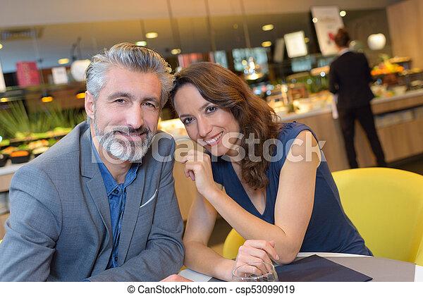 the happy couple - csp53099019