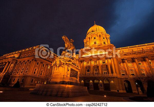 The historic Royal Palace  - csp26242712