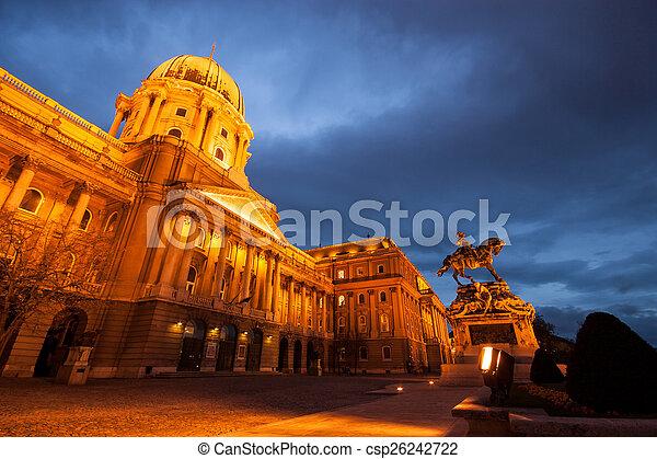 The historic Royal Palace  - csp26242722