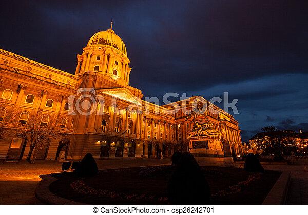 The historic Royal Palace  - csp26242701