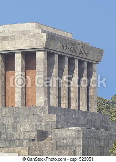 The Ho Chi Minh Mausoleum - csp1523051