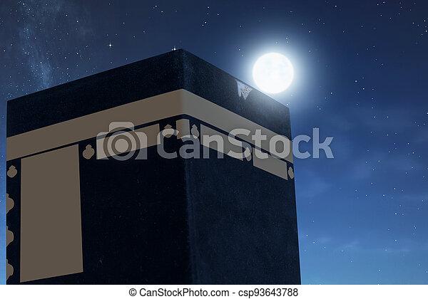 The holy Kaaba - csp93643788