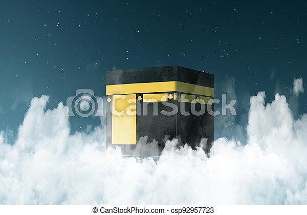 The holy Kaaba - csp92957723