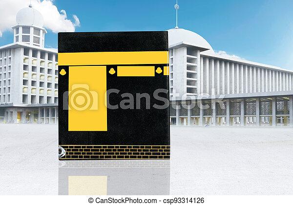 The holy Kaaba - csp93314126
