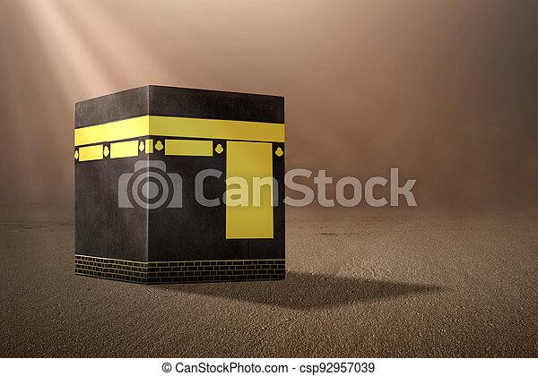 The holy Kaaba - csp92957039