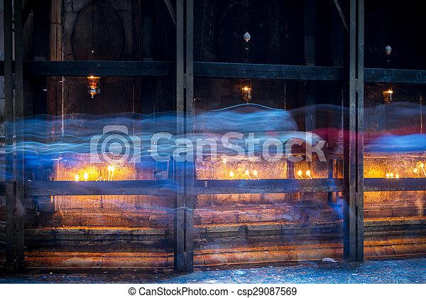 The Holy Sepulchre Church in Jerusalem . - csp29087569