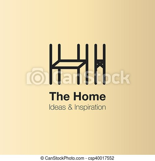 The Home And Interior Logo Design Vector Logo Template Home Ideas