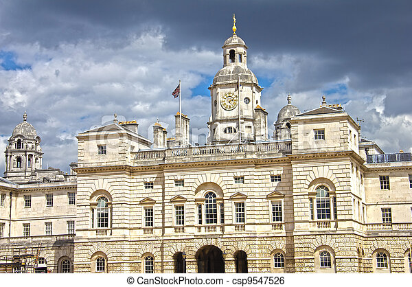 The Household Cavalry Museum in London, UK - csp9547526