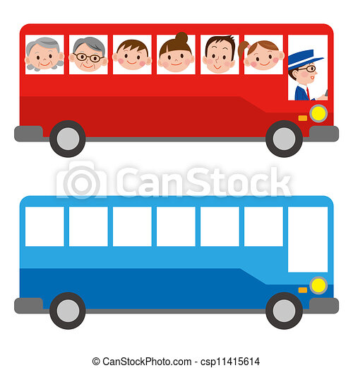 the illustration of a bus rh canstockphoto com bus clipart black and white bus clipart free