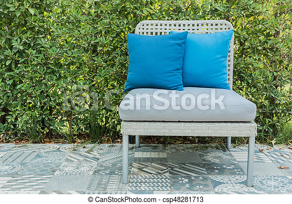 The image of a lounge chair - csp48281713