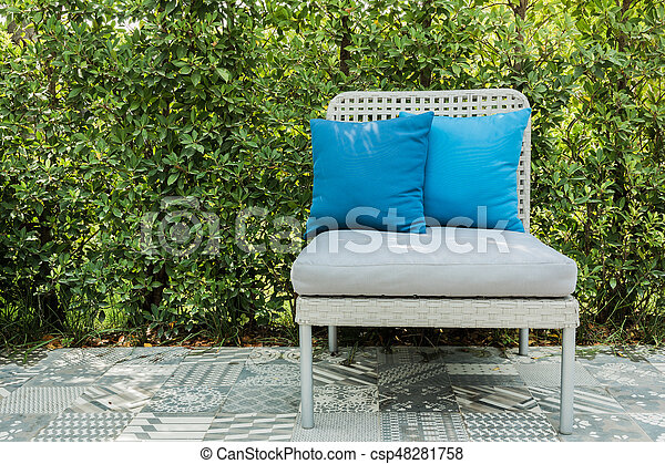 The image of a lounge chair - csp48281758