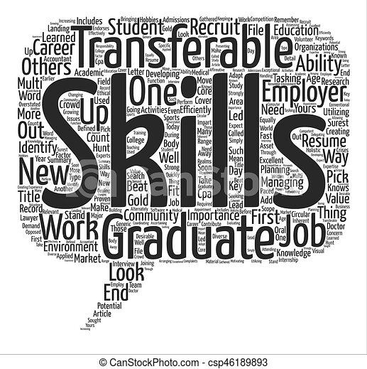 """the importance of transferable skills for """"transferable skills are important and engineers remain in high demand in  energy,"""" says beacock """"if you have done some form of engineering you can  readily."""