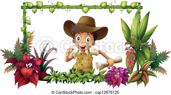 The jungle boy - csp12976125