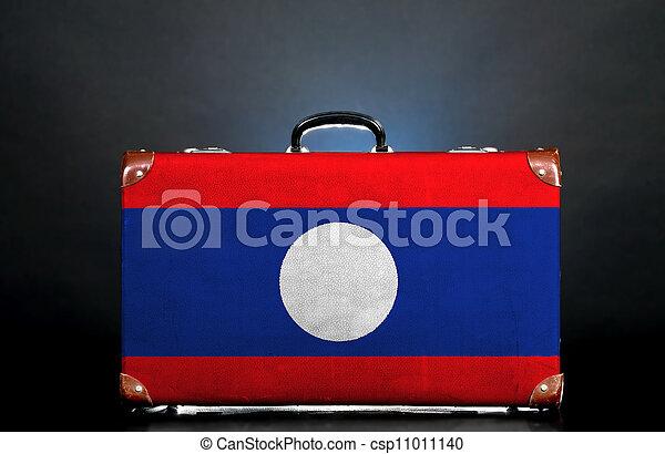 The Laotian flag - csp11011140