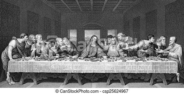 The Last Supper - csp25624967